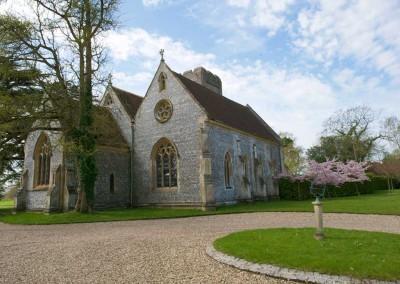 St Swithun's from front door