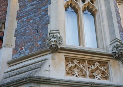 Gothic stonework