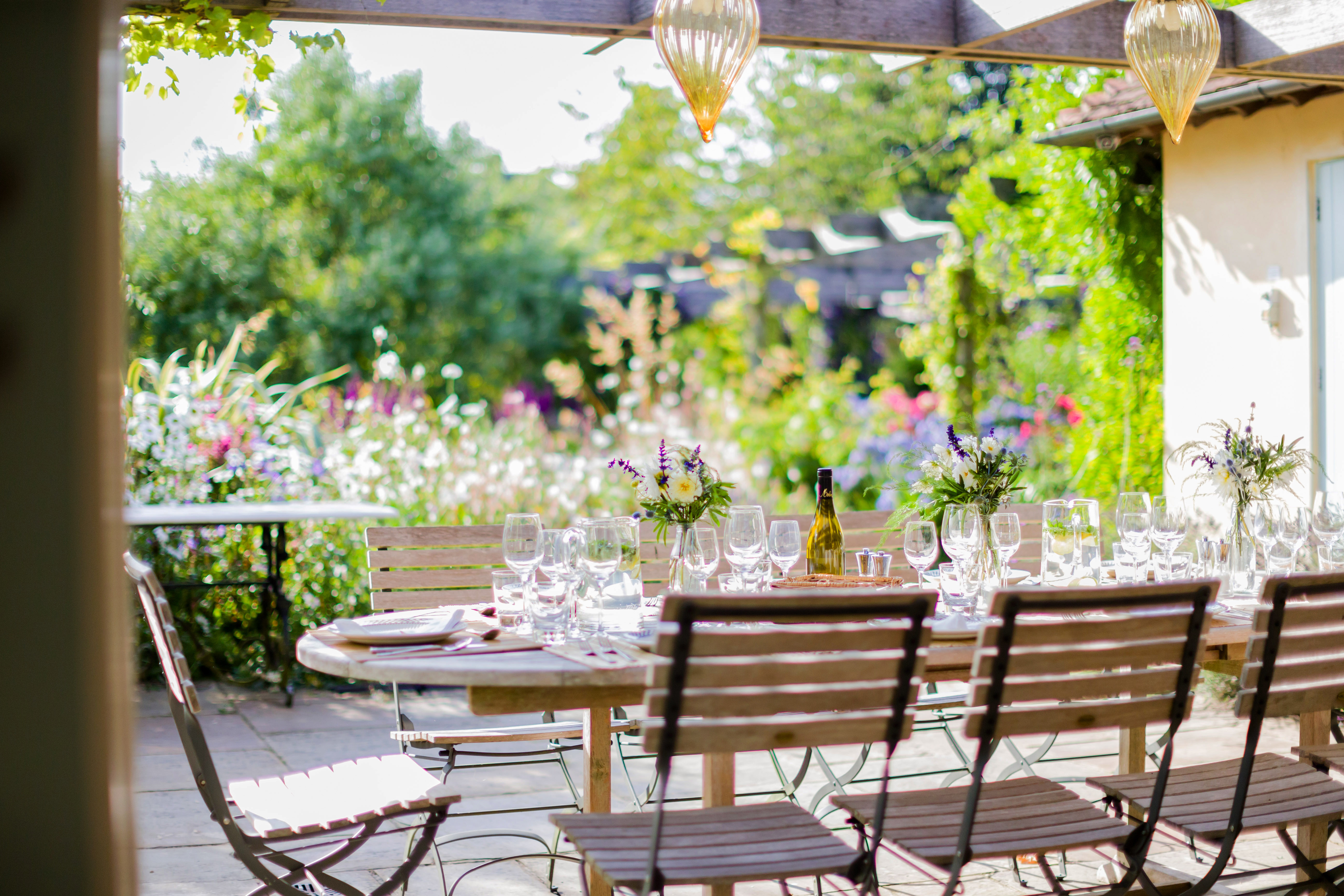 weddings in the idyllic berkshire garden wickham house