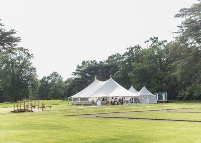 Small Intimate Wedding Venues Berkshire in the Garden